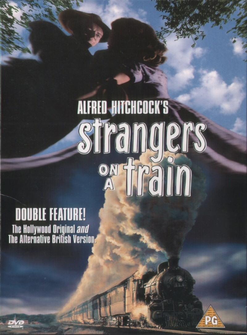 dvd e vhs strangers on a train