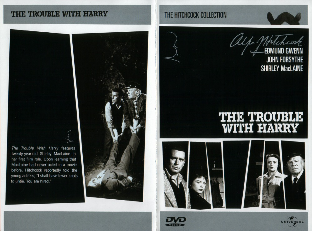 DVD e VHS - The trouble with harry